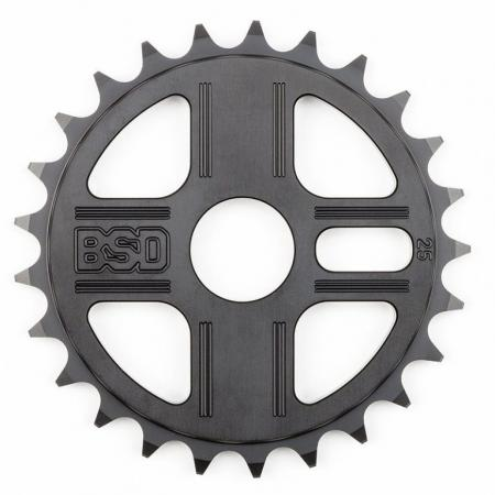 BSD TBT 25t black sprocket
