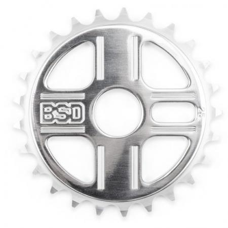 BSD TBT 25t polished sprocket