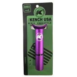 KENCH 25.4 135mm CNC PIVOTAL purple seatpost