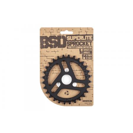 BSD Superlite 25t black sprocket