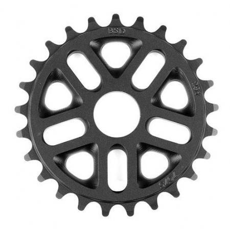 BSD Superlite 3D 25t black sprocket