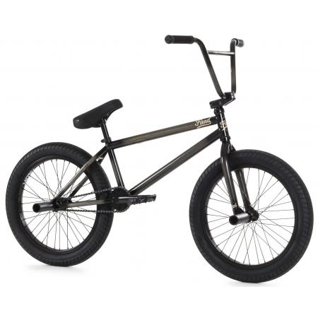 Fiend Type B 2020 clear with black BMX bike