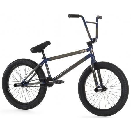 Fiend Type B 2020 clear with navy BMX bike