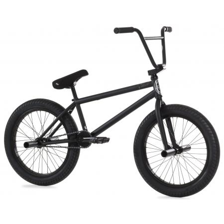 Fiend Type A+ 2020 flat trans black BMX bike
