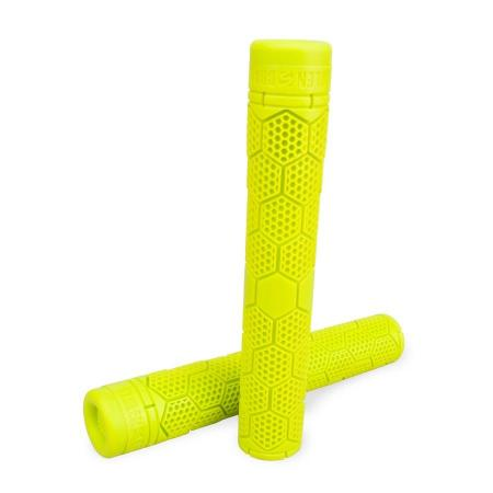 Stolen Hive SuperStick Flangless Neon Yellow BMX Grips