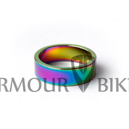 Armour Bikes 10 mm Oil Slick Headset rings (1pcs)