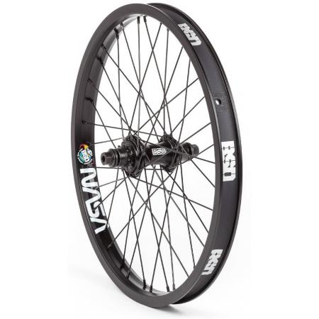 BSD Backstreet Pro Mind Cassette LHD Black BMX Rear Wheel