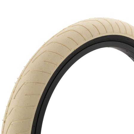 KINK BMX Sever 2.4 cream with back wall BMX tire