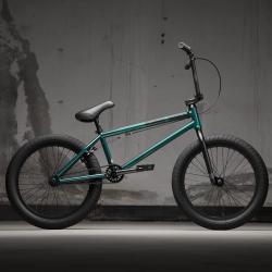 KINK Gap XL 2021 Gloss Galactic Green BMX bike