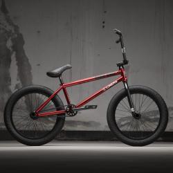 KINK Williams 2021 Gloss Mirror Red BMX bike