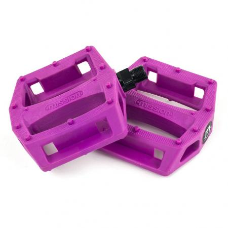 Mission Impulse pink PC pedals