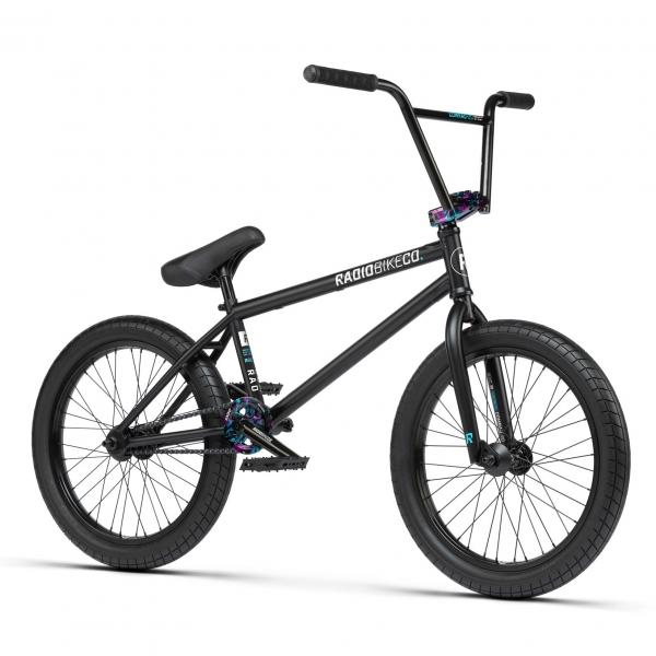 Radio Comrad 2021 21 matt black BMX bike